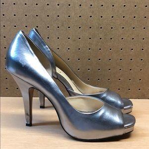 Jessica Simpson Josette Open Toe Heels sz 10